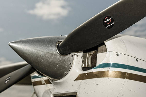 Photograph - The Right Prop by Andy Crawford