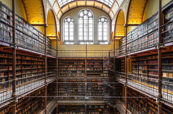 Photograph - The Rijksmuseum Library by Brian Grzelewski