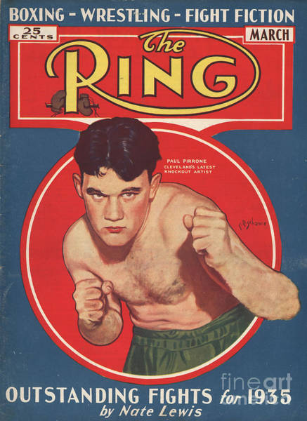 Nineteen-thirties Wall Art - Drawing - The Ring  1934 1935 1930s Usa   Boxing by The Advertising Archives