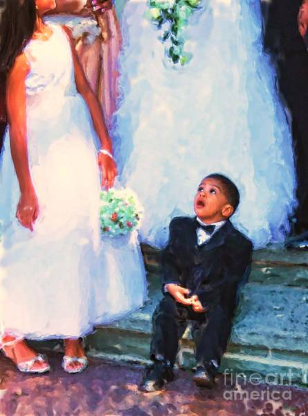 Photograph - The Ring Bearer by Jeff Breiman