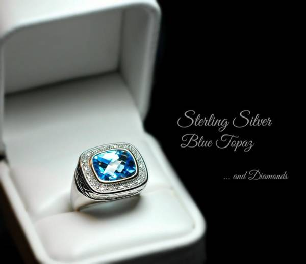 Sterling Silver Jewelry Wall Art - Photograph - The Ring by Diana Angstadt