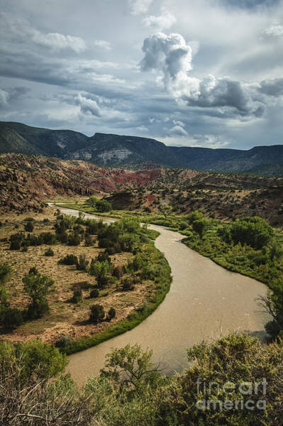 Photograph - The Rio Chama by Terry Rowe