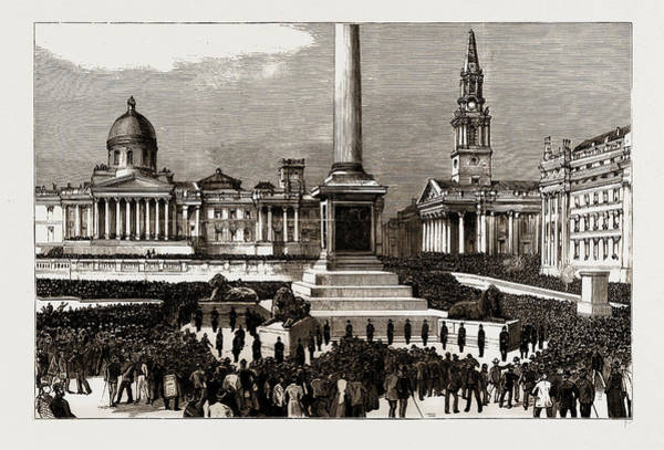 The Rioting In The West End Of London, Uk Art Print