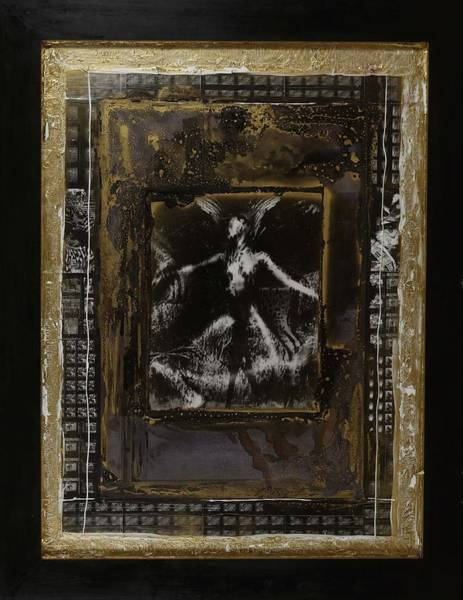 Ant Mixed Media - The Rising Angel by Anthony Russell