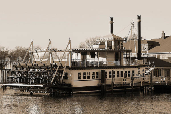 Photograph - The River Lady Toms River New Jersey by Terry DeLuco
