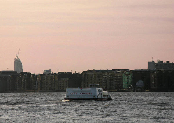 Photograph - The River Thames At Sunset by Helene U Taylor