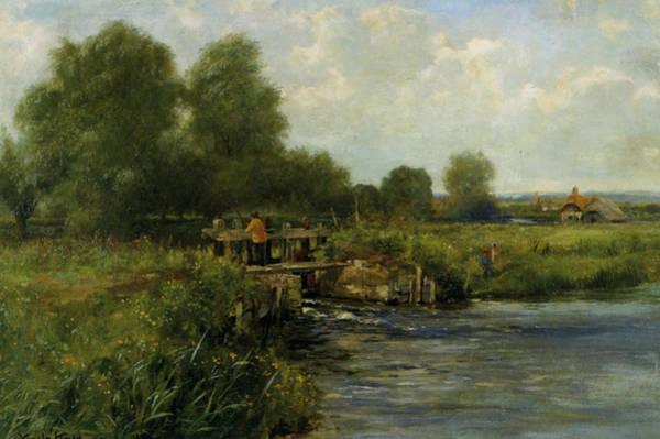 River Thames Digital Art - The River Thames by Henry King