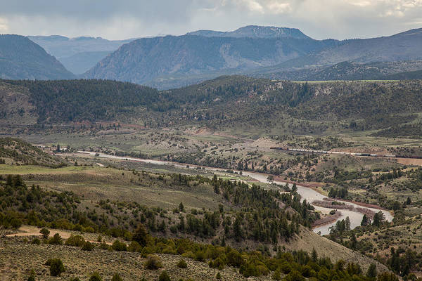 Photograph - The River Valley by Ryan Heffron
