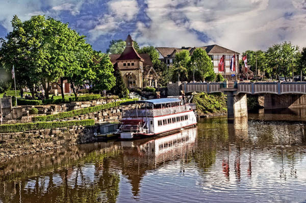 Frankenmuth Photograph - The Riverboat by Cheryl Cencich