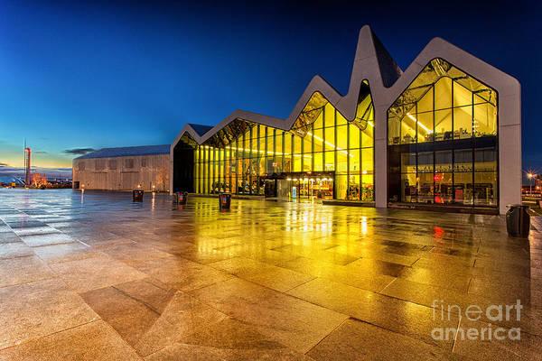Riverside Photograph - The Riverside Museum Glasgow by John Farnan