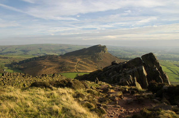 Photograph - The Roaches And Hen Cloud by Pete Hemington