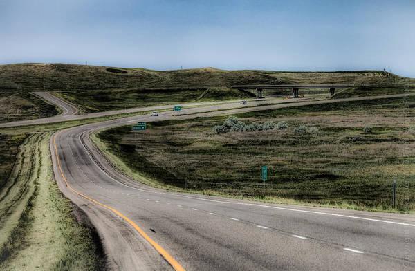 Ish Wall Art - Photograph - The Road Away by Alexander Fedin