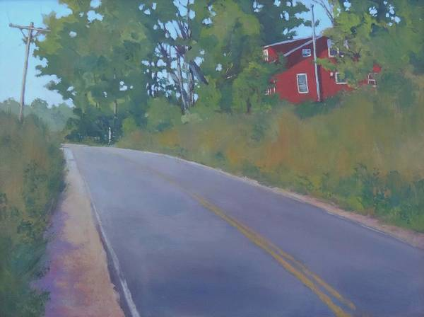 Conn Wall Art - Painting - The Road Home - Art By Bill Tomsa by Bill Tomsa