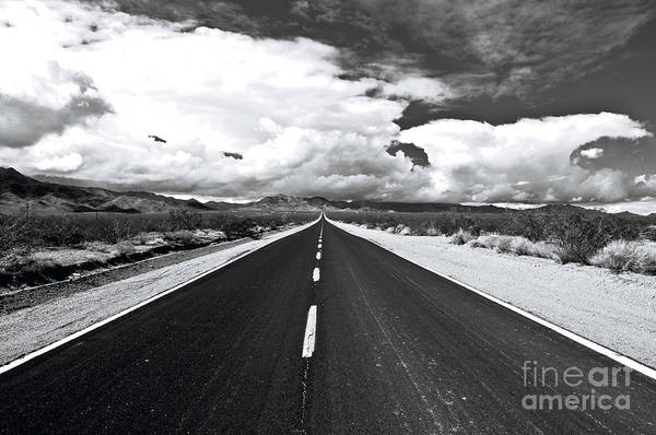 Photograph - The Road Less Traveled by Eddie Yerkish