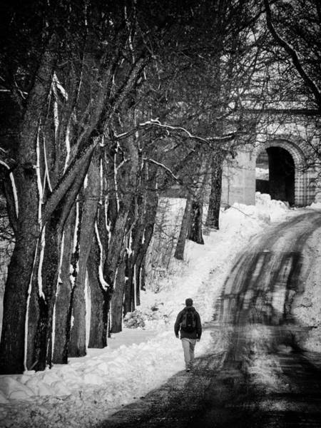 Cross Country Photograph - The Road by Stelios Kleanthous
