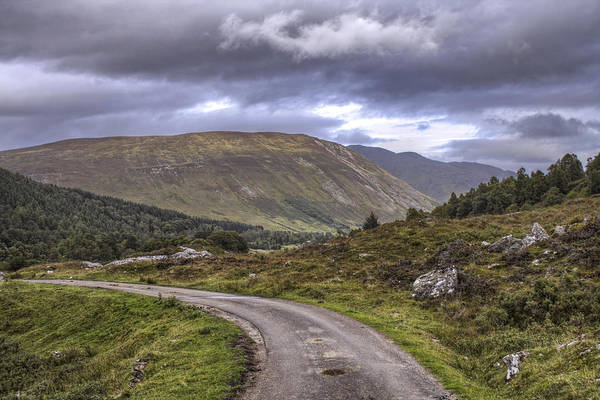 Photograph - The Road Through Glen Lyon - Scotland by Jason Politte