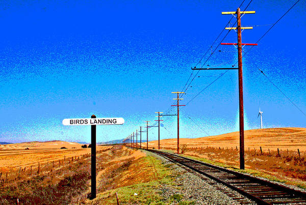 Digital Art - The Road To Collinsville 6 by Joseph Coulombe