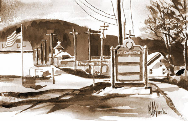 Painting - The Road To Farmington Pilot Knob Missouri by Kip DeVore