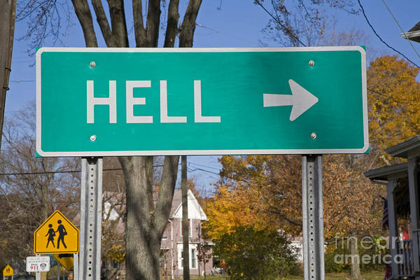 Photograph - The Road To Hell by Jim West