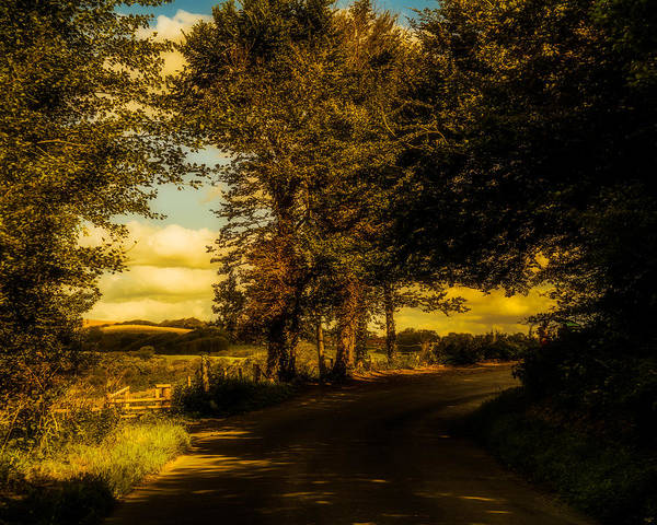 Photograph - The Road To Litlington by Chris Lord