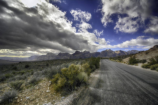 The Road To Red Rock Art Print