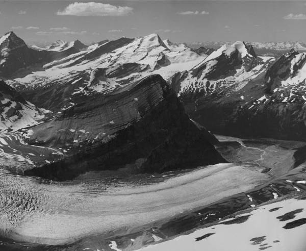 Photograph - The Robson Glacier by Ed  Cooper Photography
