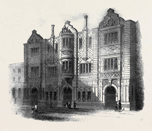 Wall Art - Drawing - The Roby Day And Sunday Schools by English School