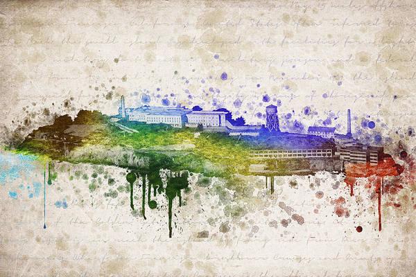 Isla Wall Art - Digital Art - The Rock by Aged Pixel