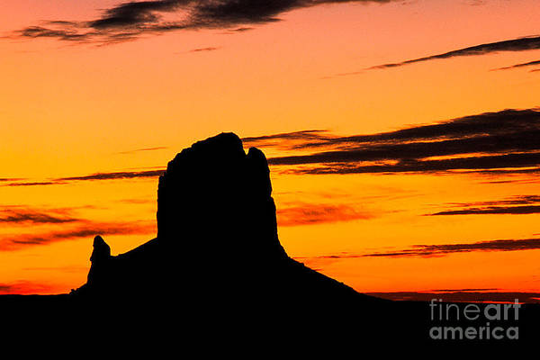 Photograph - The Rock At Dawn by Kim Lessel
