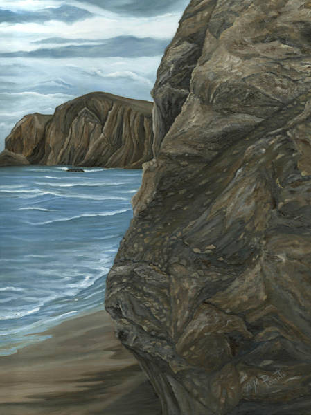 Painting - The Rock by Angeles M Pomata
