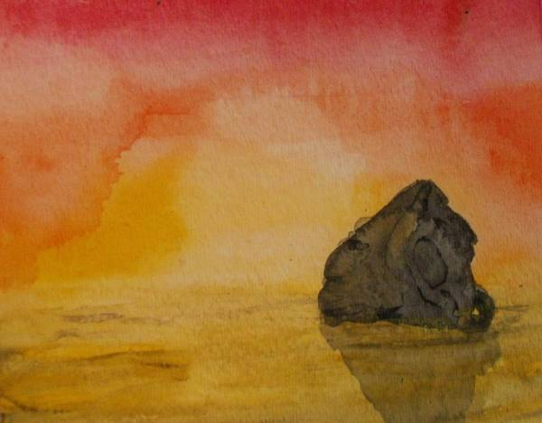 Painting - The Rock by Thomasina Durkay