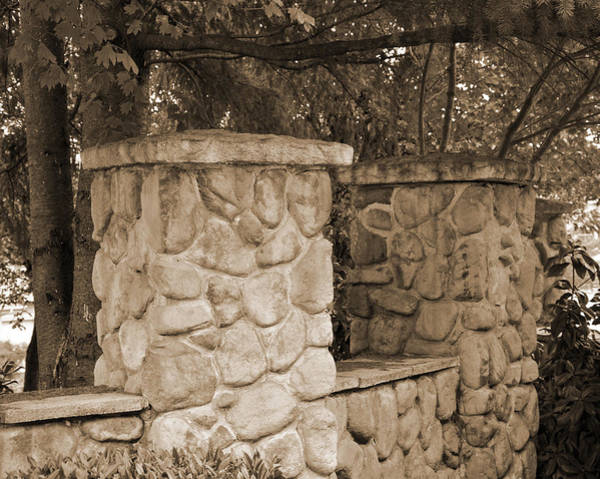 Photograph - The Rock Wall by Kirt Tisdale