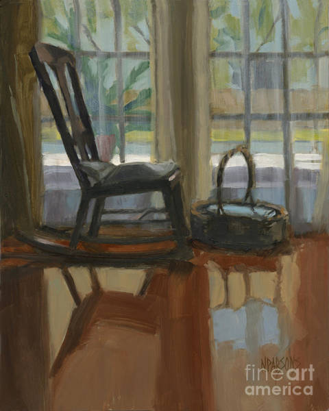 Painting - The Rocker by Nancy  Parsons