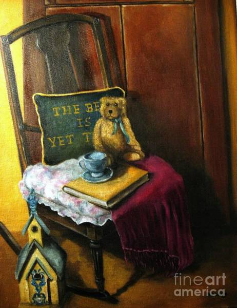 Wall Art - Painting - The Rocking Chair by Patricia Lang