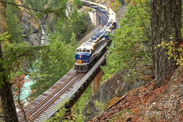 Photograph - The Rocky Mountaineer Railroad by Adam Jewell