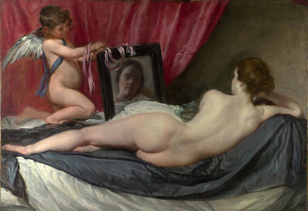 Velazquez Wall Art - Painting - The Rokeby Venus by Diego Velazquez