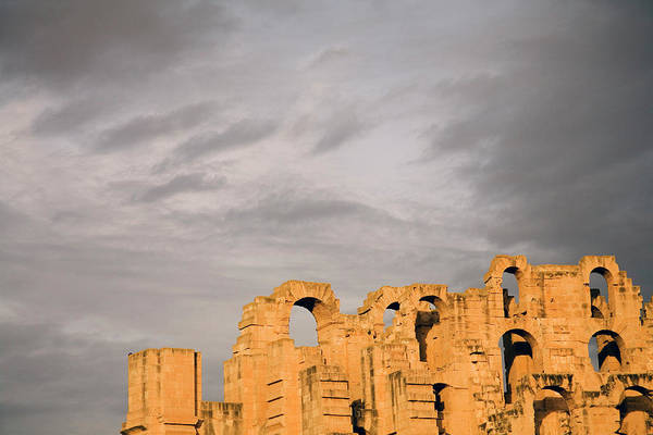 El Jem Photograph - The Roman Colosseum At El Jem El Djem by Dan Shugar