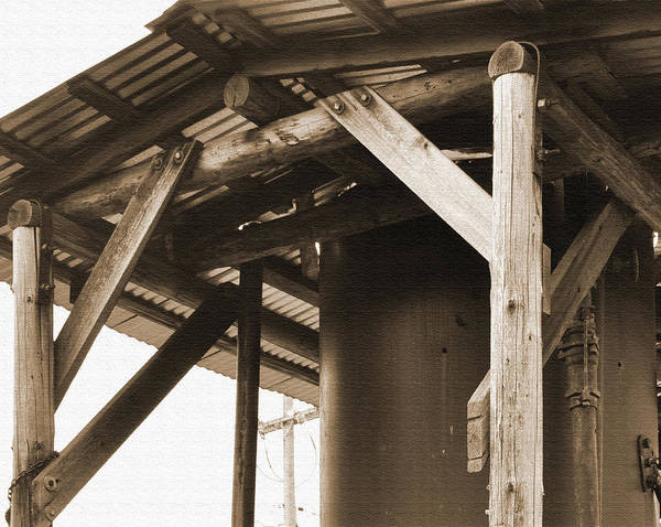 Photograph - The Roof Over The Steam Engine by Kirt Tisdale