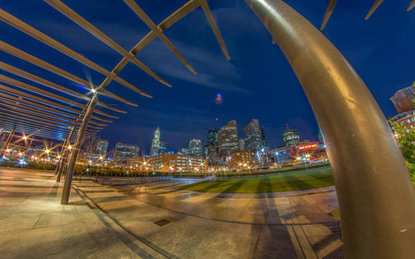 Photograph - The Rose Kennedy Greenway Boston Ma by Bryan Xavier