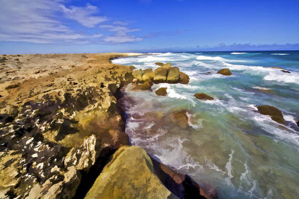 Photograph - The Rough Side Of Aruba II by David Letts