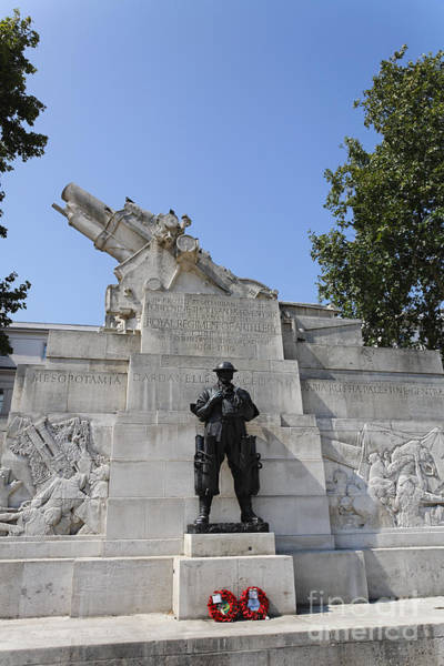 Royal Artillery Wall Art - Photograph - The Royal Artillery War Memorial By Charles Sargeant Jagger And Lionel Pearson In London England by Robert Preston
