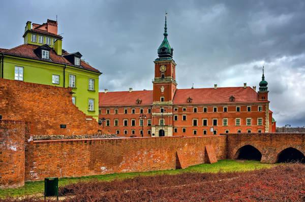 Photograph - The Royal Castle by Tomasz Dziubinski