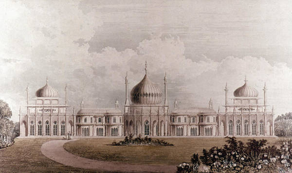 Brighton Painting - The Royal Pavilion by Granger