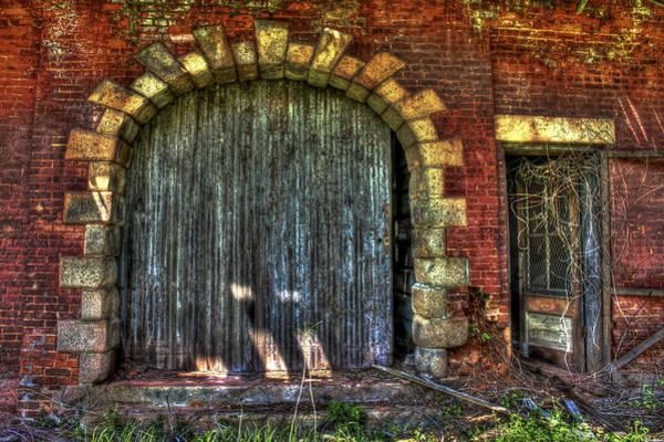Norfolk Southern Wall Art - Photograph - The Rail Road Warehouse Doors 2 by Reid Callaway