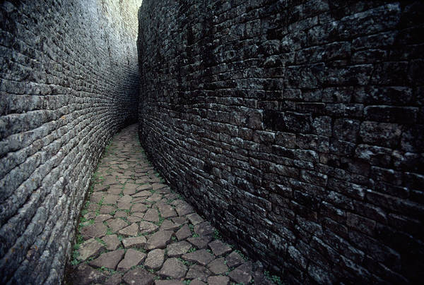 Wall Art - Photograph - The Ruins Of Great Zimbabwe Were Built by James L. Stanfield