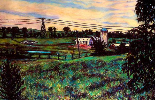 Painting - The Rusty Silo by Kendall Kessler