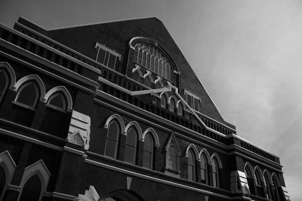 Ryman Auditorium Photograph - The Ryman by David Johnston