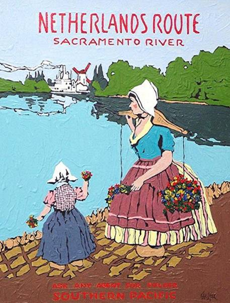 The Sacramento River Art Print by Paul Guyer