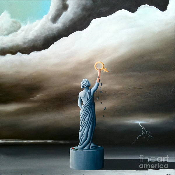 Painting - The Sacred Feminine  by Ric Nagualero