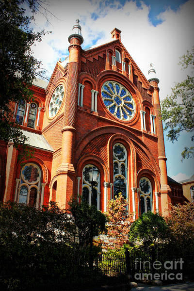Photograph - The Sacred Heart Cultural Center by Reid Callaway